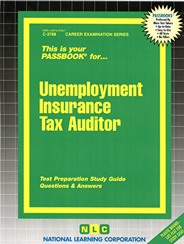 Download Unemployment Insurance Tax Auditor(Passbooks) Pdf