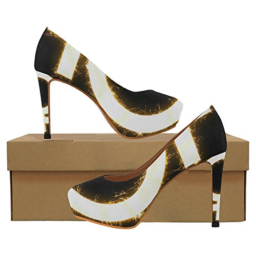 Genderprint Gender Womens Sexy Tacchi Alti Pump Shoes Genere