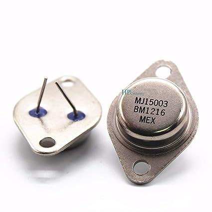 Amazon.com: WillBest 20PCS High Power Transistor MJ15003 MJ15003G to-3 Fever Audio Power Tube