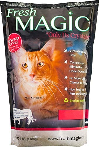 FreshMAGIC Crystal Litter Crystals Automatic
