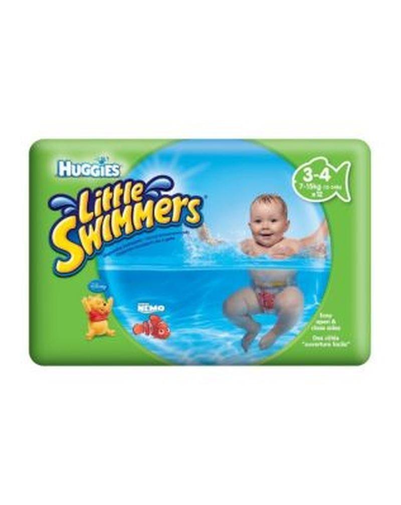Huggies Pequeños Nadadores Talla 3-4 (7 Kg-15 Kg) - 12 Pantalones (Paquete de 6): Amazon.es: Hogar