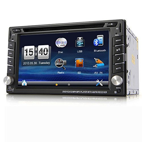 Bluetooth Gsm Radio (NEW 6.2'' Car DVD GPS Navigation 2DIN Car Stereo Radio Car GPS Bluetooth USB/SD Universal Interchangeable Player Vehicle Real time tracker GPS/GSM/GPRS Car Vehicle Tracker HD LCD Double DIN Car GPS Stereo DVD Player Touch Screen Bluetooth+Camera from US )
