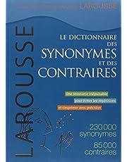 DICTIONNAIRES DES SYNONYMES ET DES CONTRAIRES (LE)