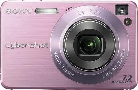 amazon com sony cybershot dscw120 p 7 2mp digital camera with 4x rh amazon com