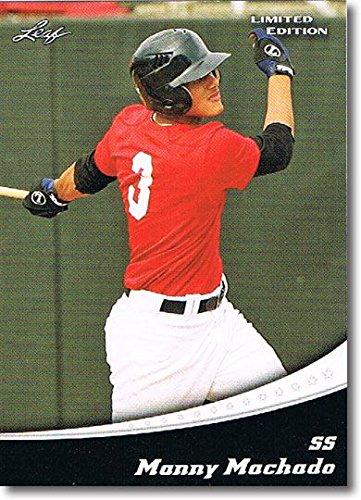 50-Ct Lot MANNY MACHADO 2011 Leaf Limited Rookie Cards Mint RCs by Leaf