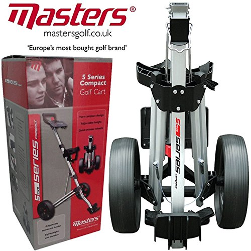 'NEW 2015' MASTERS 5 SERIES STOW A CART LIGHTWEIGHT / COMPACT GOLF TROLLEY