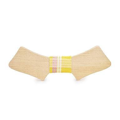 YYX001 Wild Joker Corbata coreana de madera maciza para boda ...