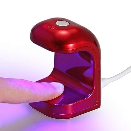 de uñas Mini para uñas Lámpara de esmalte LED lámpara TF5u3KJ1lc