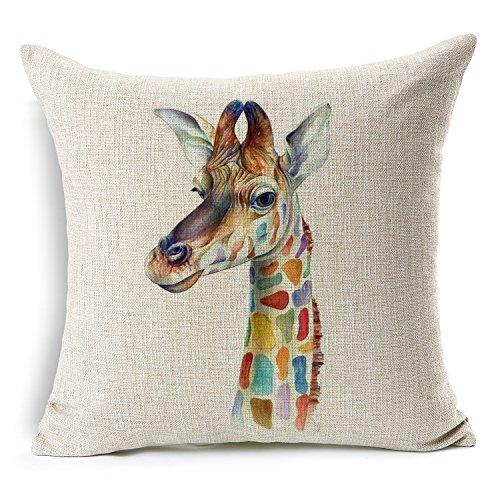 Giraffe Decorative Pillow Cove...