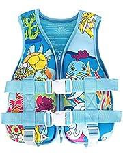 Life Jackets for Kids,Swim/Kayaking Vest Jacket for Boys & Girls,Children's Swimsuit Vest with Adjustable Safety Strap for Pool, Lake, Beach