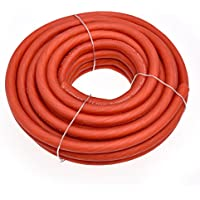 Conext Link 25 FT 4 AWG GA Full Gauge Battery Power Cable Ground Wire Frost Red OFC Copper