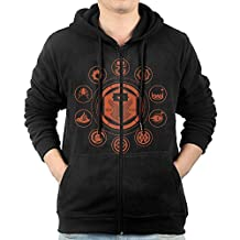Men Sunbreaker Destiny Hunter Hooded Sweatshirt Black