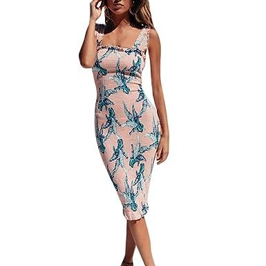 retail prices crazy price online here POachers Robe mi-Longue-Femme Mini Robe Casual Imprimée Robe ...