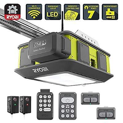 Ultra-Quiet 2 HP Belt Drive Garage Door Opener with Battery Backup Capability