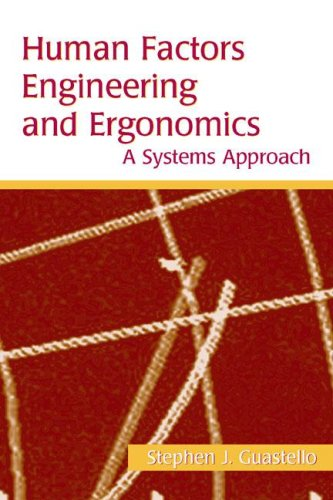 Human Factors Engineering and Ergonomics: A Systems Approach
