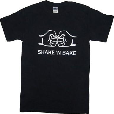 "1f759736 ""Shake N Bake"" Talladega Nights: The Ballad of Rocky Bobby Black T"