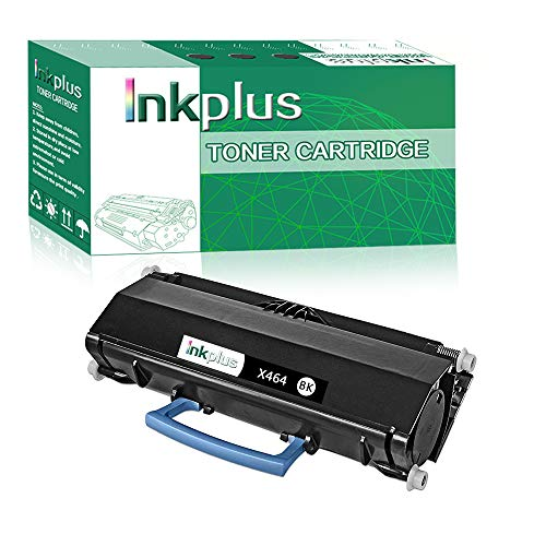 InkPlus X464de Series Toner Cartridge Compatible for Lexmark X464de Printers,(15,000 Page-Yield, ()