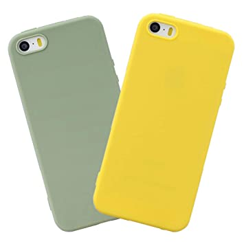 EuCase 2X Funda iPhone 5s Silicona Carcasa iPhone 5 ...