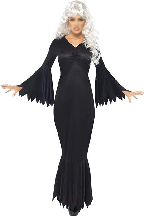 NBWS Halloween Disfraz de Alma Inmortal para Mujer Adulta, Vestido ...