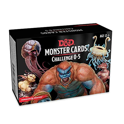Dungeons & Dragons Spellbook Cards: Monsters 0-5 (D&D Accessory) ()