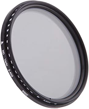 Market/&YCY Neutral Camera Lens Filter ND2 for Camera Lenses with 82mm Filter Threads