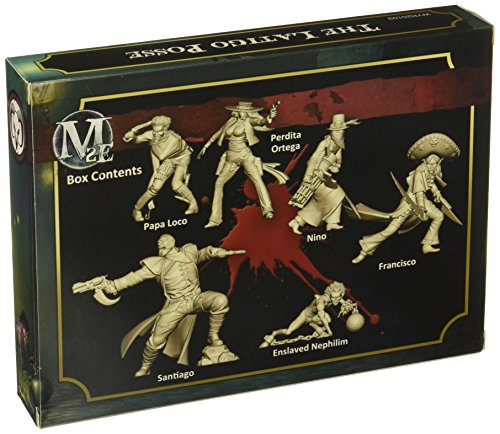 Wyrd Miniatures Malifaux Latigo Posse Model Kit 4