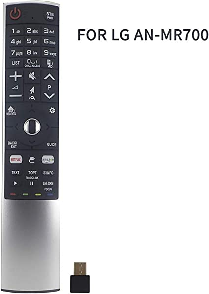 Tesiway AN-MR700 - Mando a distancia universal para LG LCD/LED/HD Magic TV con receptor USB: Amazon.es: Electrónica