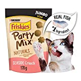 Purina Friskies Party Mix Cat Treats; Naturals Seaside Crunch - 170 g Pouch
