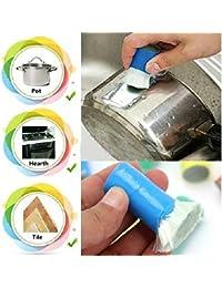 Investment 1 Piece Best Magic Stainless Steel Kitchen Metal Rust Remover Cleaning Detergent Stick Wash Brush Pot Kitchen... saleoff