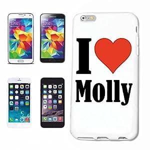 "Diseño Sony XPERIA Z1/L39H ""I Love Molly"" Carcasa rígida Carcasa Funda para Sony XPERIA Z1/L39H"