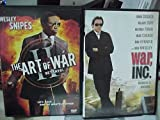 War Inc , the Art of War : 2 Great Movies One Low Price