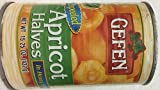 Gefen Unpeeled Apricot Halves In Heavy Syrup 15.25 Oz. Pack Of 3.