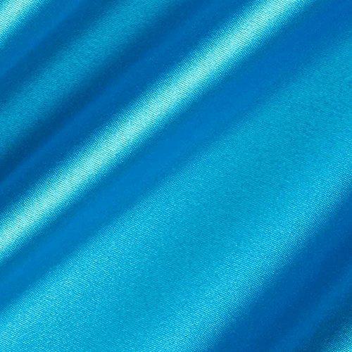 Turquoise Satin Fabric 60