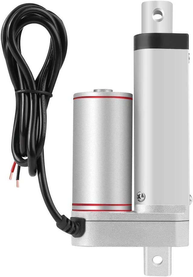 LIANGANAN DC 12V Linear Actuator 80KG Max Lift 50mm Stroke Electric Motor for Auto Car Tools