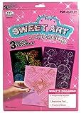 Sweet Art Engraving Art 3 Design Scratch Art Set # 102