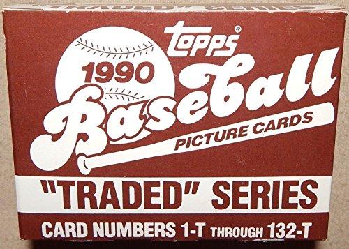 Traded 1990 Topps Baseball (1990 Topps Traded Set Complete M (Mint))