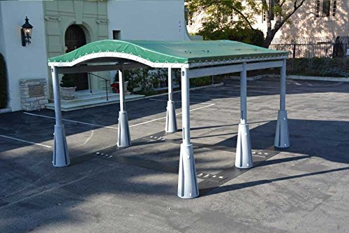 GoPort 2-Module Portable Carport - Outdoor Shelter by GoPort