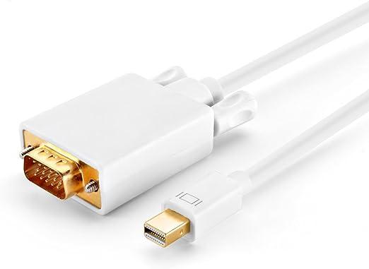 Mini//Thunderbolt DP to VGA Video Adapter Cable