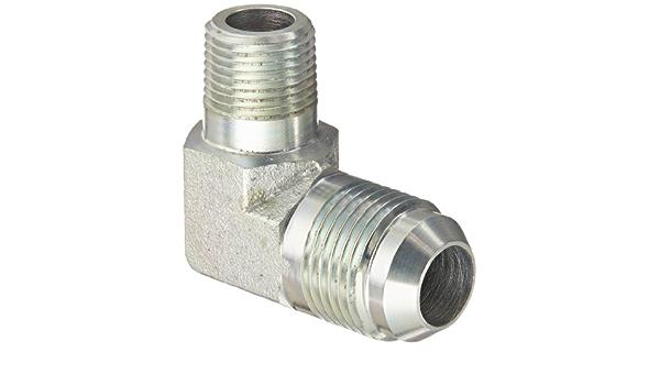 24 Units Bulkhead Straight Adapter Steel 5//8 in Male JIC 37/° Flare x 5//8 in Male JIC 37/° Flare Brennan