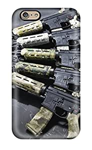 [CdcSutF1047qlyYw]premium Phone Case For Iphone 6/ Gun Camouflage Tpu Case Cover