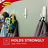 Command Large Utility Hooks, White, Ships In Own