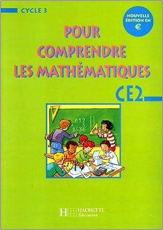 Download Pour comprendre les mathématiques, CE2.Nouvelle édition en euro. Fichier élève epub pdf