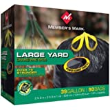Member's Mark Power-Guard Yard Bags - 39 gal - 90 ct. (4 Pack)