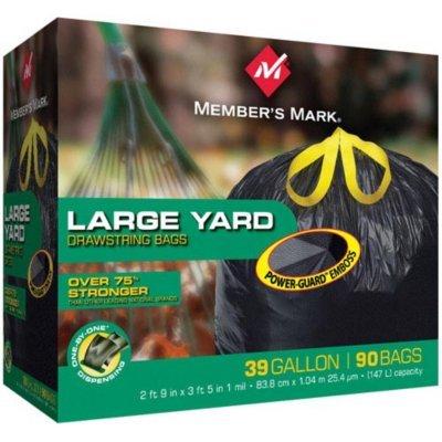 Member's Mark Power-Guard Yard Bags - 39 gal - 90 ct. (4 Pack)