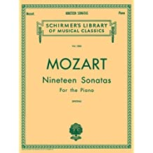 19 Sonatas - Complete: English/Spanish Schirmer Library of Classics Volume 1304 Piano Solo