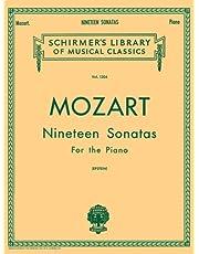 19 Sonatas - Complete: English/Spanish Schirmer Library of Classics Volume 1304 Piano Solo