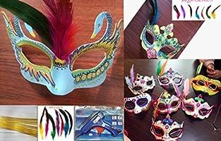 Máscara Blanca, Outgeek 6PCS Máscara Blanca Para Pintar De ...