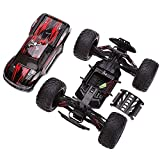 HUKOER Remote Control Car - Top Selling 2.4GHz 1:12 Scale High Speed Model Car 40KM/H Monster Truck Off-road RC Car Vehicle (Red)