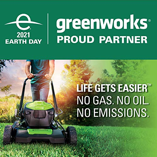 Greenworks 21-Inch 40V Brushless Self-Propelled Mower 6AH Battery and Charger Included M-210-SP