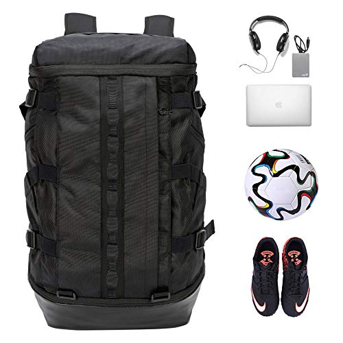 TRAILKICKER 26L Basketball Backpack, College Laptop Backpack, Sports Bag for Soccer, Football and Volleyball with compartments for Ball and Shoes